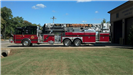 2007 E One 95 Foot Platform Fire Engine with 2000 GPM Pump