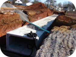 Box Culvert Under Construction