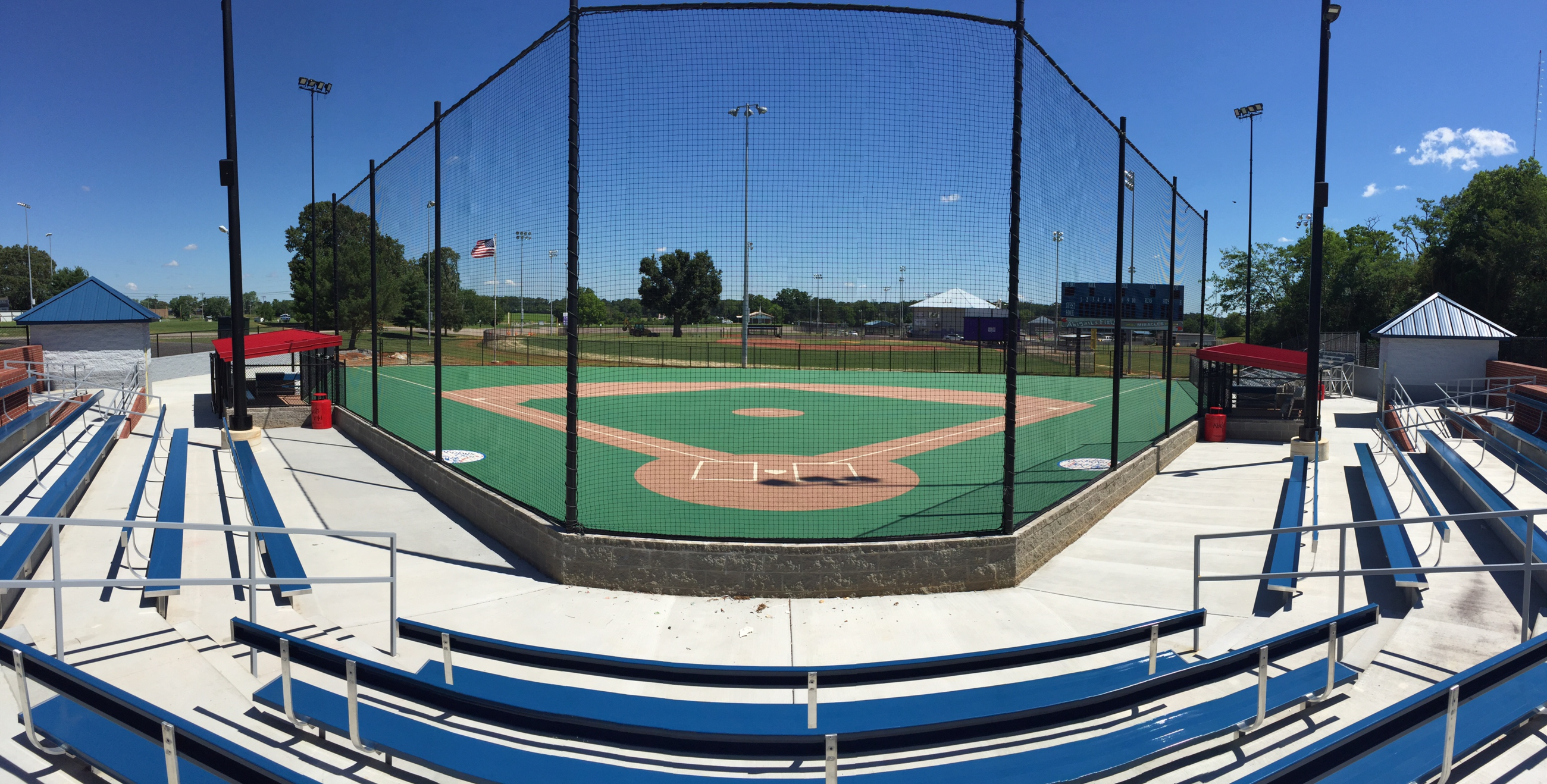 Miracle Field Panorama