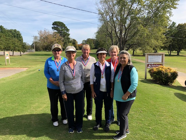 2018 Senior Olympic Golf Women