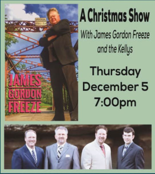 James Gordon Freeze and The Kellys Poster