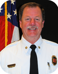 Fire Chief Jay Moore